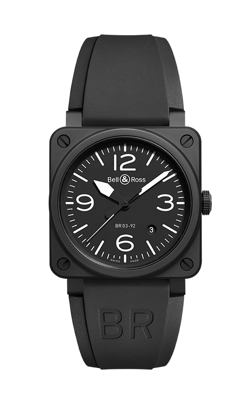 Bell and Ross BR 03-92 Watch BR 03-92 Black Matte product image