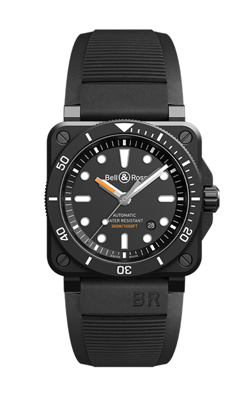 Bell and Ross BR 03-92 Watch BR 03-92 Diver Black product image