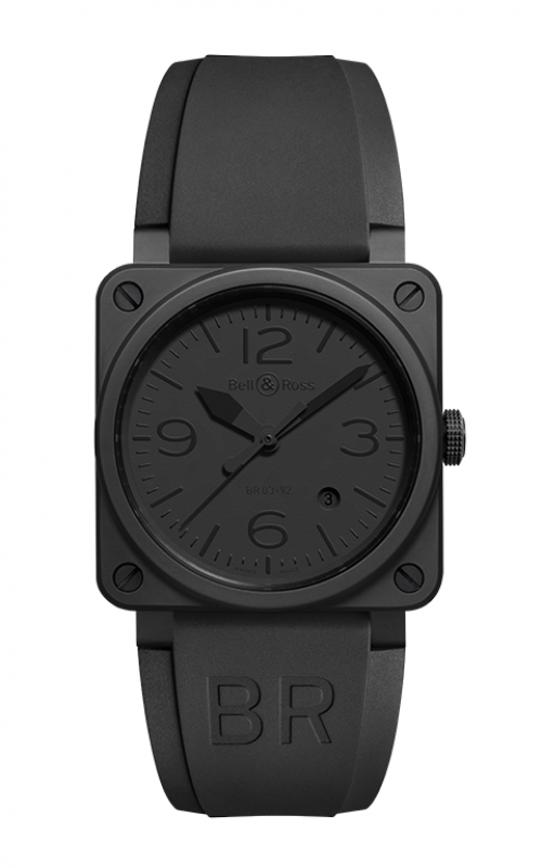 Bell and Ross BR 03-92 Watch BR 03-92 Phantom Ceramic product image