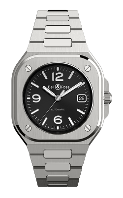 Bell and Ross BR 05 Steel Watch BR 05 Black Steel product image